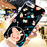 cheap -Case For Apple iPhone X iPhone 7 Plus Pattern Back Cover Cartoon Soft TPU for iPhone X iPhone 8 Plus iPhone 8 iPhone 7 Plus iPhone 7