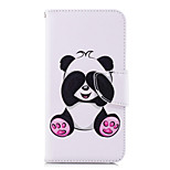 cheap -Case For Huawei P20 lite P20 Card Holder Wallet with Stand Flip Pattern Full Body Cases Panda Hard PU Leather for Huawei P20 lite Huawei