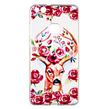 cheap -Case For Huawei P10 Lite Transparent Pattern Back Cover Flower Animal Soft TPU for P10 Lite