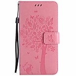 cheap -Case For Huawei P8 Lite P8 Lite (2017) Wallet with Stand Flip Full Body Cases Flower Tree Hard PU Leather for P8 Lite (2017) Huawei P8