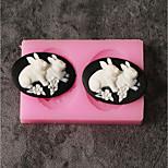 Недорогие -1шт Новинки Необычные гаджеты для кухни конфеты Для приготовления пищи Посуда Шоколад Торты Силикон Своими руками День рождения Креатив