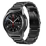 preiswerte -Uhrenarmband für Gear S3 Frontier Gear S3 Classic Samsung Galaxy Klassische Schnalle Edelstahl Handschlaufe