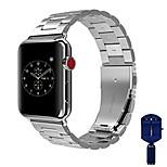 abordables -Ver Banda para Apple Watch Series 3 / 2 / 1 Apple Hebilla Clásica Acero Inoxidable Correa de Muñeca