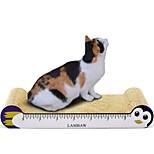 Недорогие -Когтеточка Разные цвета Когтеточка Способствует похудению Игрушка / приманка для котов Картон Бумага Назначение Коты