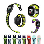 cheap -Watch Band for Fitbit Versa Fitbit Sport Band Silicone Wrist Strap