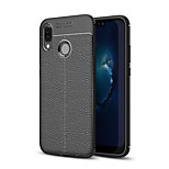 cheap -Case For Huawei P20 lite Frosted Embossed Back Cover Solid Colored Soft TPU for Huawei P20 lite