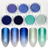 cheap -7pcs Acrylic Powder Nail Glitter Glitter Powder Glamorous & Dramatic Sparkle & Shine Nail Art Design
