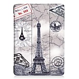 cheap -Case For Apple iPad (2017) with Stand Full Body Cases Word / Phrase Owl Cartoon Hard PU Leather for iPad 9.7 (2017)