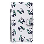 cheap -Case For Huawei P10 Lite P8 Lite (2017) Card Holder Wallet with Stand Flip Pattern Full Body Cases Panda Hard PU Leather for P10 Lite P8