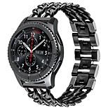 Недорогие -Ремешок для часов для Gear S3 Frontier Samsung Galaxy Современная застежка Нержавеющая сталь Повязка на запястье