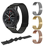 cheap -Watch Band for Gear S3 Frontier Gear S3 Classic LTE Gear S3 Classic Samsung Galaxy Milanese Loop Stainless Steel Wrist Strap