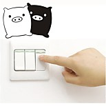 cheap -Wall Decal Decorative Wall Stickers Light Switch Stickers Fridge Stickers Toilet Stickers - Plane Wall Stickers Animals Removable