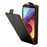 cheap -Case For LG Q6 Card Holder Full Body Cases Solid Colored Hard PU Leather for LG Q6