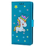cheap -Case For Sony Xperia XZ Xperia XA Card Holder Wallet with Stand Flip Embossed Full Body Cases Unicorn Hard PU Leather for Sony Xperia XZ