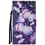 cheap -Case For Sony Xperia XZ Xperia XA1 Card Holder Wallet with Stand Flip Magnetic Full Body Cases Butterfly Hard PU Leather for Sony Xperia