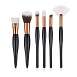 cheap -6-Pack Professional Makeup Brushes Makeup Brush Set / Powder Brush / Eyeshadow Brush Synthetic Hair / Nylon Eco-friendly / Professional /