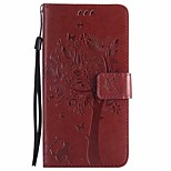 cheap -Case For Huawei P10 P10 Plus Wallet with Stand Flip Full Body Cases Flower Tree Hard PU Leather for P10 Plus P10 Lite P10
