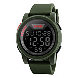 cheap -SKMEI Men's Digital Digital Watch Fashion Watch Sport Watch Calendar / date / day Water Resistant / Water Proof Large Dial Stopwatch LCD
