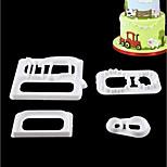 Недорогие -Инструменты для выпечки пластик Своими руками Торты Stamper & Scraper