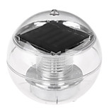cheap -HKV 1pc 1W Underwater Lights Solar Waterproof Outdoor Lighting RGB DC3.7V