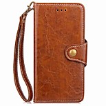 economico -Custodia Per Xiaomi Redmi 5 Redmi 5 Plus Porta-carte di credito A portafoglio Con supporto Con chiusura magnetica A calamita Integrale