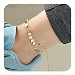 cheap -Anklet - Vintage Gold / Silver For Daily / Holiday