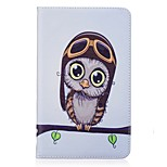 cheap -Case For Amazon Kindle Fire 7(5th Generation, 2015 Release) Card Holder Wallet with Stand Pattern Full Body Cases Owl Hard PU Leather for