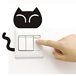 cheap -Wall Decal Light Switch Stickers Toilet Stickers - Plane Wall Stickers Animals Removable
