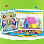 Недорогие -3D пазлы Круглый Фокусная игрушка Ручная работа 3D в мультяшном стиле ABS смолы День рождения Сказка Переносной Игрушки Все Подарок