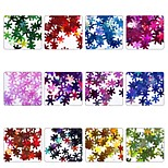 cheap -12 pcs Sequins / Nail Glitter Glitters / Snowflake Nail Art Design