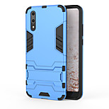 cheap -Case For Huawei P20 Shockproof with Stand Back Cover Armor Hard PC for Huawei P20