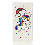 economico -Custodia Per Xiaomi Redmi Nota 5A Nota Redmi 4 Resistente agli urti Transparente Fantasia / disegno Per retro Unicorno Morbido TPU per