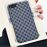 cheap -Case For Apple iPhone X iPhone 7 Plus Pattern Back Cover Lines / Waves Hard PU Leather for iPhone X iPhone 8 Plus iPhone 8 iPhone 7 Plus