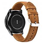 abordables -Ver Banda para Gear S3 Frontier Gear S3 Classic LTE Gear S3 Classic Samsung Galaxy Hebilla Moderna Cuero Auténtico Correa de Muñeca