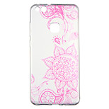 cheap -Case For Huawei P10 Lite Transparent Pattern Back Cover Flower Soft TPU for P10 Lite