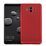 cheap -Case For Huawei Mate 10 Mate 10 pro Ultra-thin Back Cover Solid Colored Hard PC for Mate 10 lite Mate 10 pro Mate 10 Mate 9