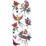 cheap -1pcs Waterproof Animal Series Flower Series Tattoo Stickers Stickers