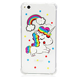 cheap -Case For Huawei P20 lite P10 Lite Shockproof Transparent Pattern Back Cover Unicorn Soft TPU for Huawei P20 lite P10 Lite Huawei P9 Lite