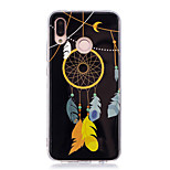 cheap -Case For Huawei P20 lite P20 Pro Glow in the Dark IMD Pattern Back Cover Shine Dream Catcher Soft TPU for Huawei P20 lite Huawei P20 Pro