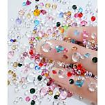 preiswerte -1pcs Verzierungen Nagel Glitter Kristall Stilvoll Niedlich Schein Heimwerken Alltag Nagel-Kunstformen
