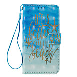 cheap -Case For Xiaomi Redmi Note 5A Redmi Note 4X Card Holder Wallet with Stand Flip Pattern Full Body Cases Word / Phrase Hard PU Leather for