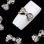 cheap -5pcs Ornaments Artistic Accessories Bowknot Practice Jewelry Nail Art Tool