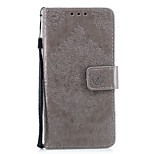 cheap -Case For Wiko WIKO Robby 2 Card Holder Wallet with Stand Flip Embossed Full Body Cases Flower Hard PU Leather for Wiko Lenny 4 Wiko Lenny