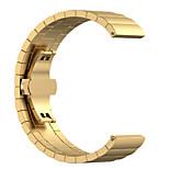 preiswerte -Uhrenarmband für Gear S3 Frontier Gear S3 Classic Samsung Galaxy Schmetterling Schnalle Edelstahl Handschlaufe