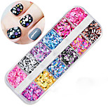 cheap -1 pcs Sequins Glitters Nail Art Forms