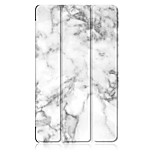 cheap -Case For Huawei MediaPad Huawei MediaPad M5 8 Origami / Magnetic Full Body Cases Marble Hard PU Leather for Huawei MediaPad M5 8