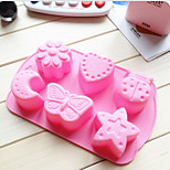 cheap -Bakeware tools Silicone Gel Heatproof Creative Kitchen Gadget For Pudding For Chocolate For Cupcake Dessert Tools