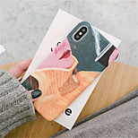 cheap -Case For Apple iPhone X / iPhone 7 Plus Pattern Back Cover Oil Painting Hard PC for iPhone X / iPhone 8 Plus / iPhone 8