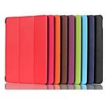 Недорогие -Кейс для Назначение Huawei MediaPad MediaPad M5 8 со стендом Магнитный Оригами Чехол Однотонный Твердый Кожа PU для MediaPad M5 8