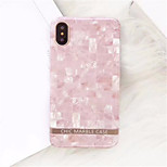 cheap -Case For Apple iPhone X iPhone 7 Plus Pattern Back Cover Marble Soft TPU for iPhone X iPhone 8 Plus iPhone 8 iPhone 7 Plus iPhone 7